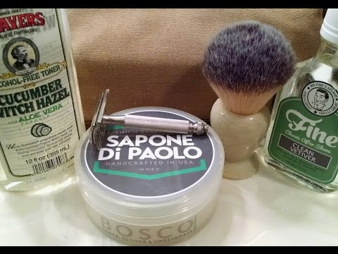 Sapone Di Paolo & Fine Clean Vetiver Head Shave