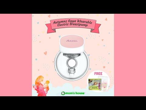 Breastpump Autumnz Gaya Handsfree with antibackflow & silent motor sound.
