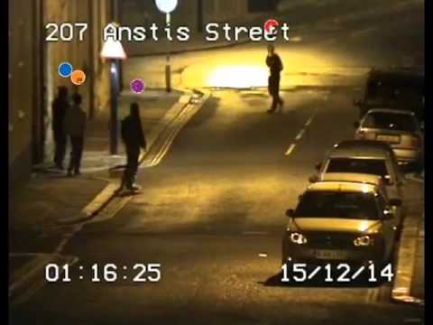 Shocking CCTV footage of armed gangs clashing in Plymouth street released