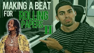 If I Made A Beat for WIZ KHALIFAs ROLLING PAPERS 2 | This Beat is INSANE! | Logic Pro X