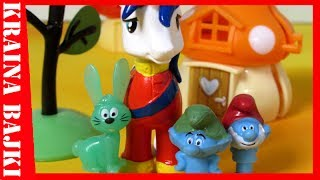 BAJKA • Stikeez Smerfy LIDL vs Happy Meal My Little Pony • ZAGINIONY PRZYJACIEL