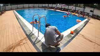 Hồ bơi chung cư Lê Thành Tân Tạo | Vu vlog