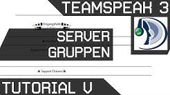 Teamspeak Tutorial 5 [Server Gruppen] Deutsch [GER HD]
