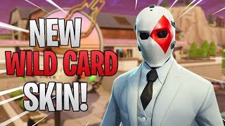 *NEW* Wild Card Skin! - Fortnite Battle Royale Gameplay!