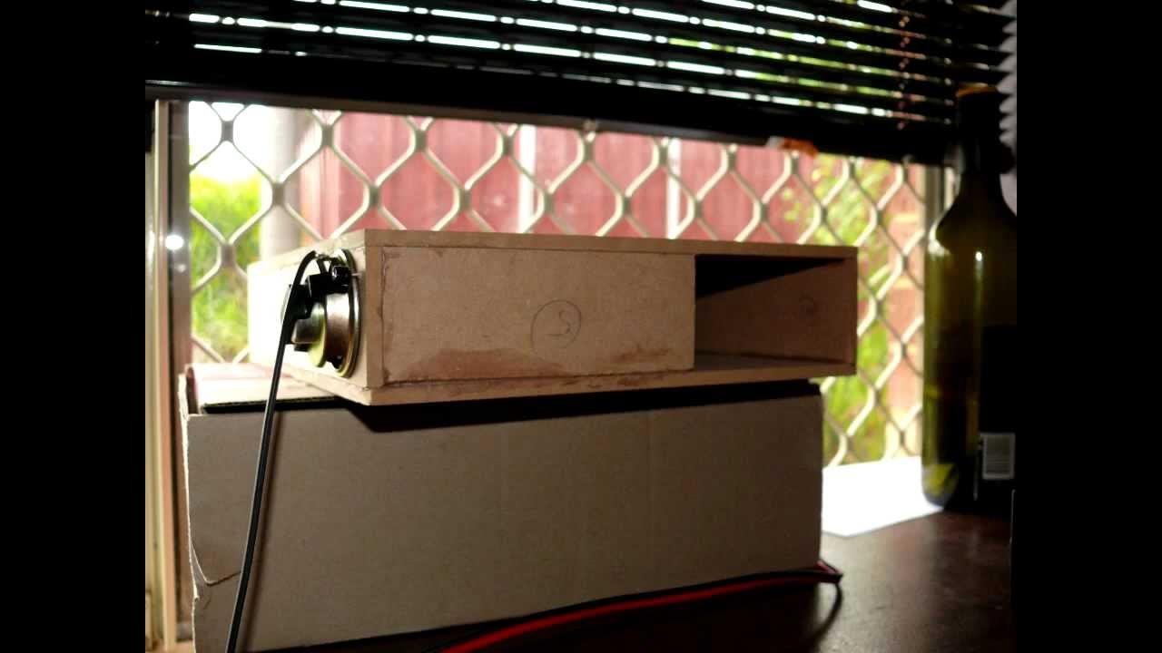 Worlds Smallest Folded Horn Speaker  YouTube