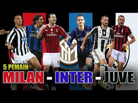 Penghianatkah? 5 Pemain Ini Pernah Berseragam AC Milan, Inter Dan Juventus