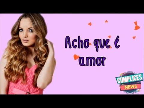 c76c0d3cabcf8 Acho Que É Amor - Giovanna Chaves - Cifra Club