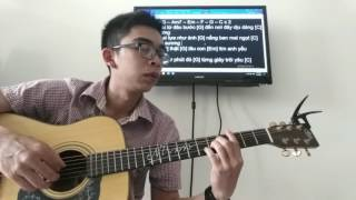GUITAR TTB - Hướng dẫn guitar đệm hát, intro kèm tab: Nơi này có anh (Sơn Tùng MTP)