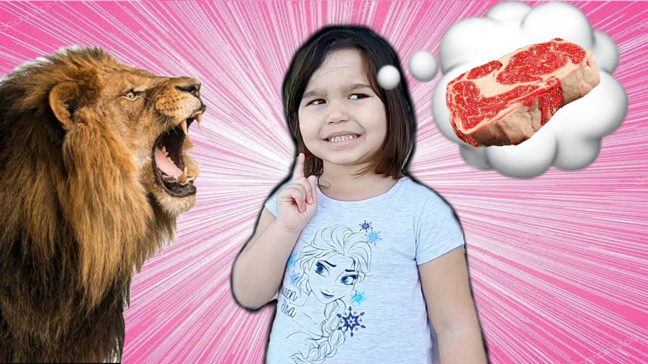 Lívia e os animais!! - Livia and stories for children about animals