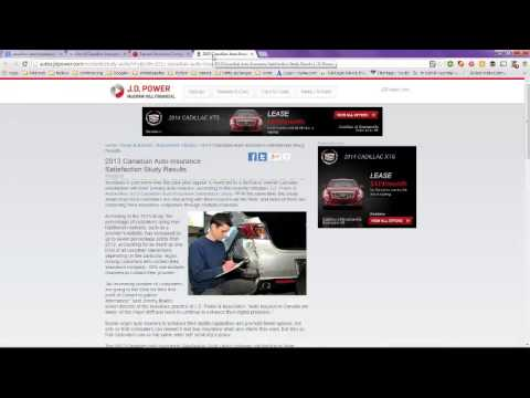 Canadian Auto Insurance Companies