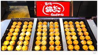 japanese street food - gindaco takoyaki 銀だこ たこ焼き