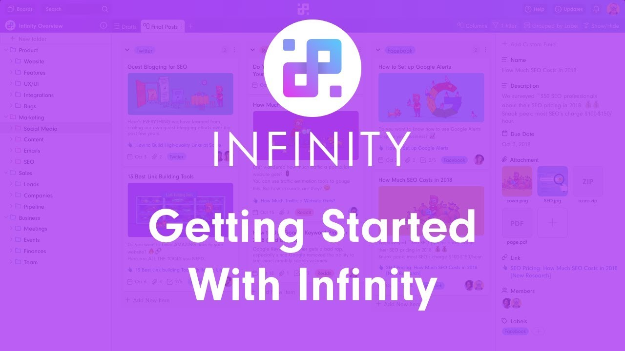 Infinity Reviews: Overview, Pricing and Features