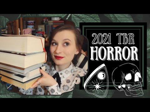 15 Horror Books I Want to Read in 2021 💀  | Tiny Book Dragon