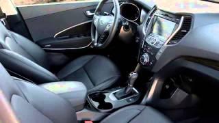 ProАВТО.  Hyundai Santa FE - 2015.  Видеообзор