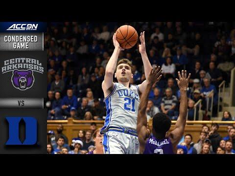 Duke Vs. Central Arkansas Condensed Game | ACC Men's Basketball 2019-20