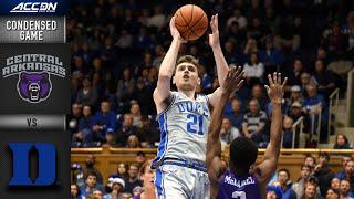 Duke vs. Central Arkansas Condensed Game   ACC Men's Basketball 2019-20