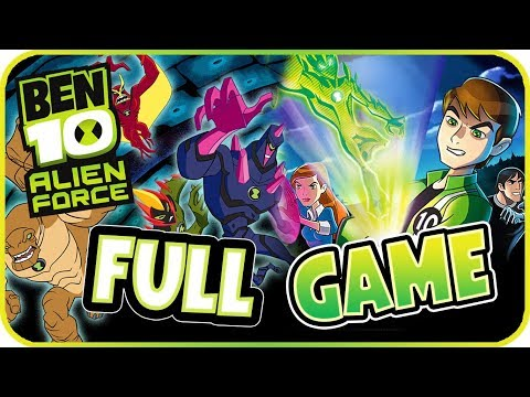 Ben 10: Alien Force Walkthrough FULL GAME Movie Longplay (PSP, Wii, PS2)