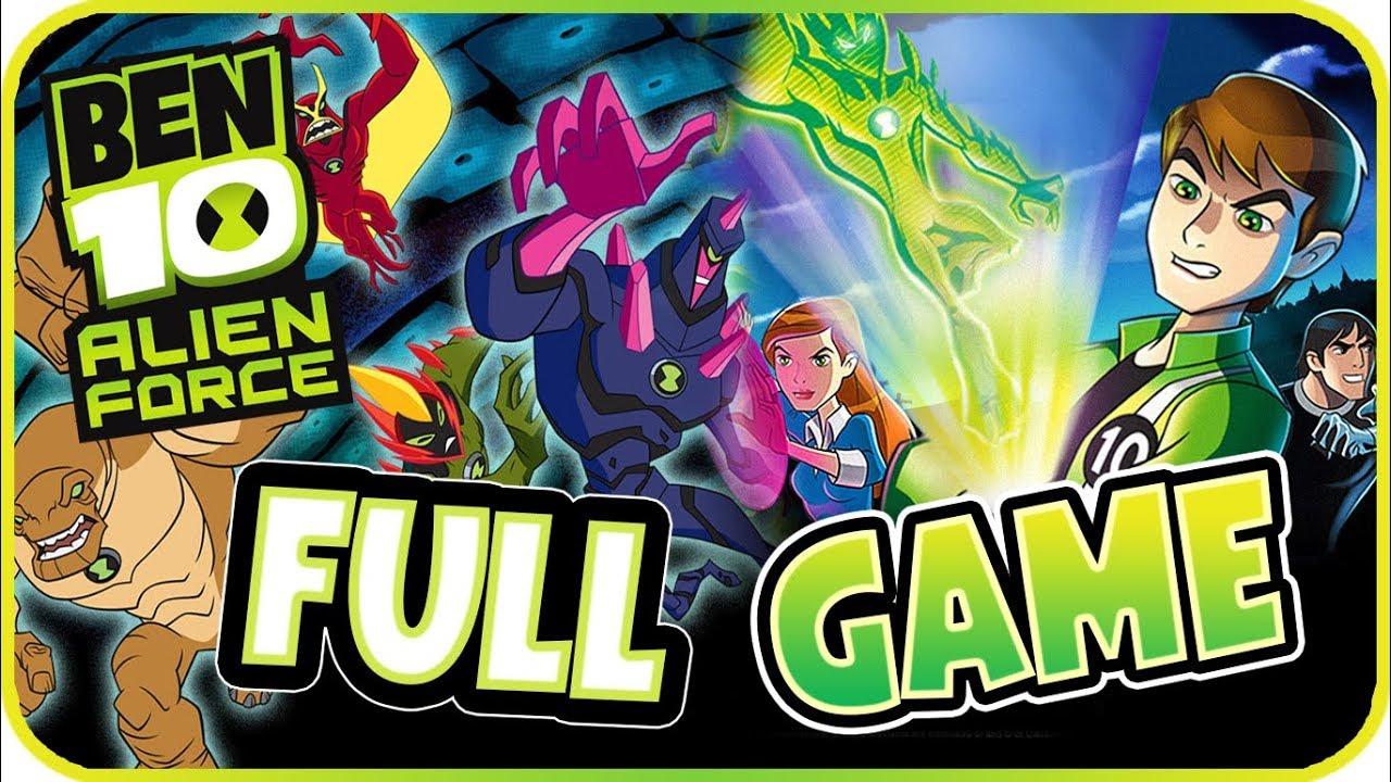 Download Ben 10: Alien Force Walkthrough FULL GAME Longplay (PSP, Wii, PS2)