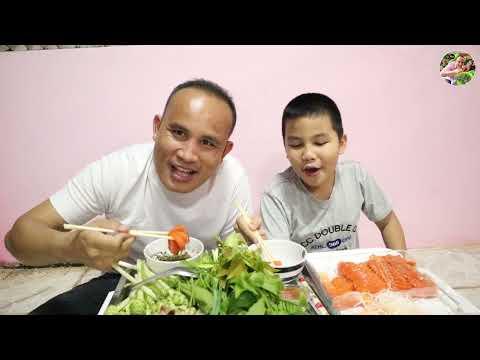 จุ๊ปลาแซลมอน พ่อใหญ่อูมามิ กับน้องปุ๊บปั๊บ UMAMI