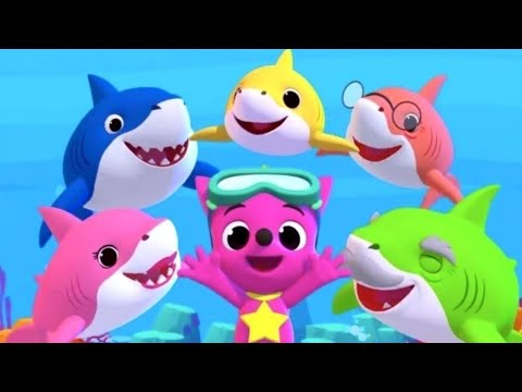 Baby shark song different versions & games - Educational app