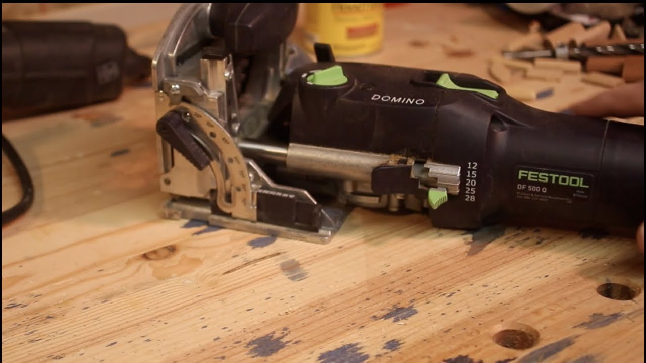 Why The Festool Domino Is More Awesome Than Dowels And Biscuits