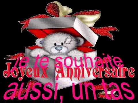 Joyeux Anniversaire Mon Amie