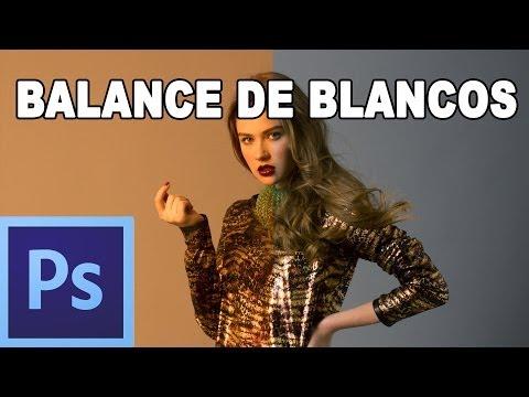 Balance de blancos / temperatura de color - Tutorial de photoshop en Español por @prismatutorial