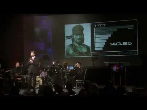 David Hayter contre Solid Snake  CVA 2012