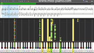 How To Play - Just The Way You Are - Bruno Mars - Piano Tutorial With Sheet Music