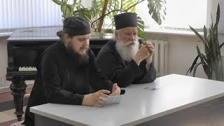 Делегация афонского монастыря Дохиар в минском приходе Всех скорбящих Радость. 2