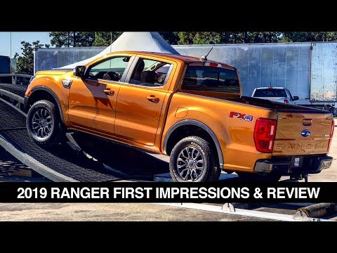 2019 Ford Ranger Review & First Impressions