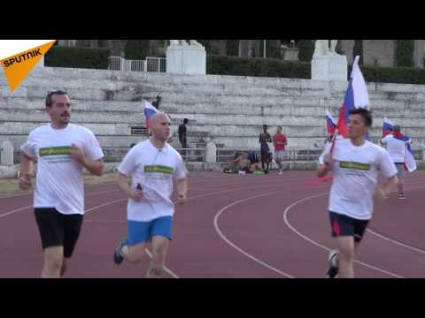 Solidarity Race in Rome for Russia's Olympians