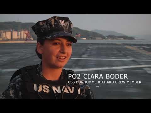 Farewell USS Bonhomme Richard