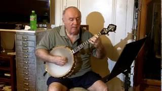 Sweet Betsy From Pike (Burl Ives) Eddy Davis Tenor Banjo