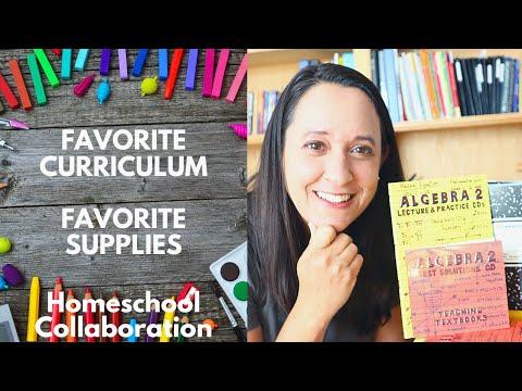 Homeschool Math Curriculum Favorite Teaching Textbooks & Favorite Supplies | Homeschool Mom Collab
