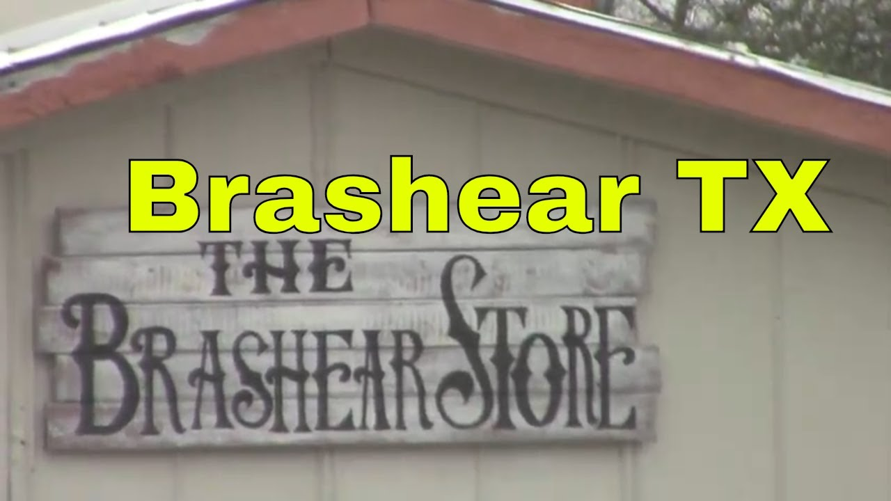 Brashear TX Tour Around Town Downtown Small Towns Texas USA Rural Country Living Farm Life Jamesss