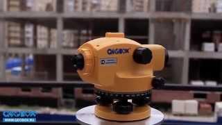 Видеообзор оптического нивелира GEOBOX N7-26