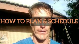 ✅ How to Plan & Schedule the right way!