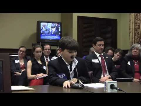 Providence 6th grader testifies in favor of legalizing same-sex marriage