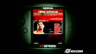 WWE Aftershock N-Gage Gameplay - Direct-Feed