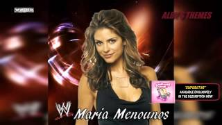 "2013: Maria Menounos 3rd WWE Theme Song - ""Superstar"" + Download Link (First on Youtube)"