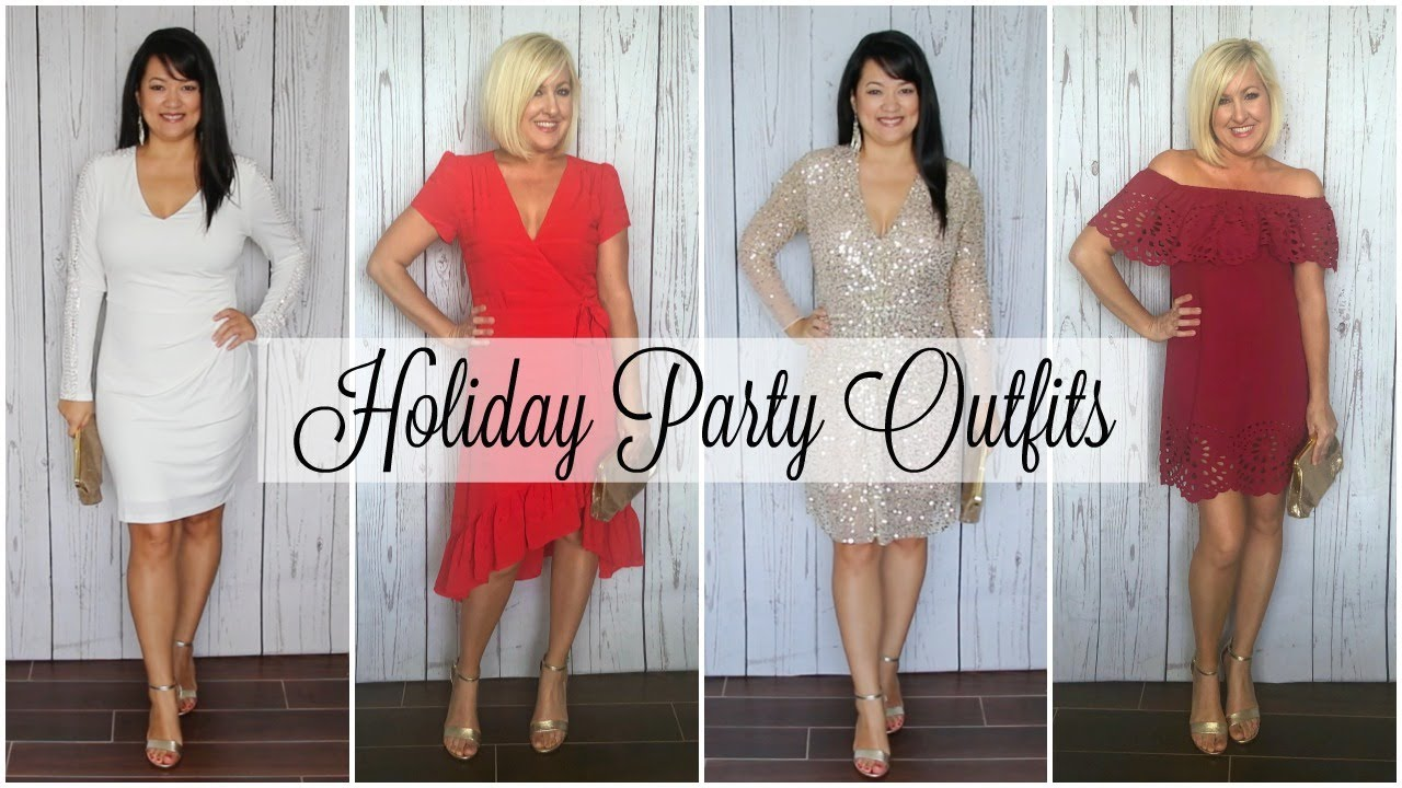 [VIDEO] - Holiday Party Outfit Ideas | Winter Lookbook & Haul 1