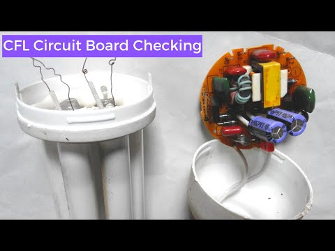 How know CFL circuit Board is ok | CFL circuit Board Checking You should know