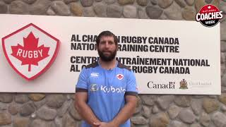Hubert Buydens discusses his rugby career and Coaches Week 2018