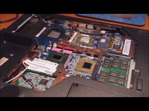 How to replace the notebook acer aspire 7720G graphics card