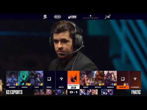 [S-VOD Review] Fnatic vs G2 Game 2 ft. Mikyx (long freeze talk)