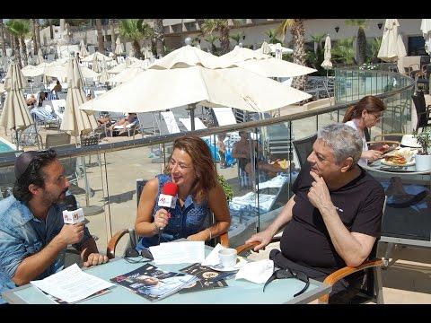 Enrico Macias en Israël, interview exclusive.