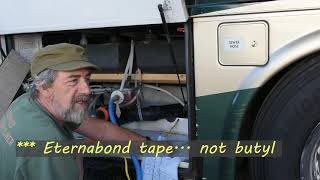 RV How To - Temporarily repairing a cracked black tank drain line