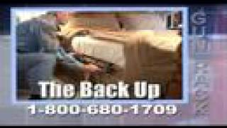 The Back Up Bedside Gun Rack Commercial -- Backup