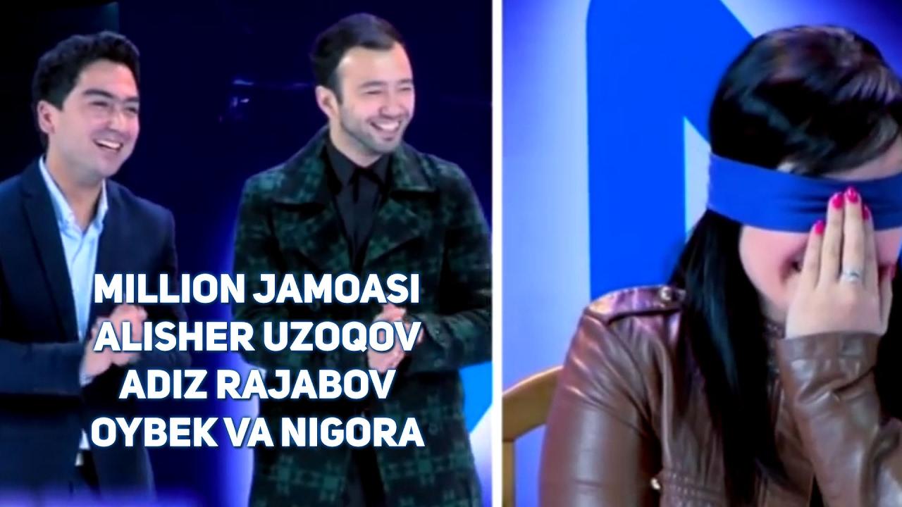 Million jamoasi - Alisher Uzoqov, Adiz Rajabov, Oybek va Nigora
